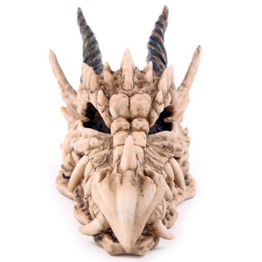 Tirelire dragon face