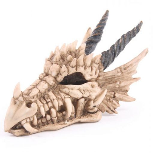 Tirelire dragon profil