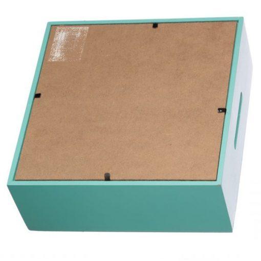 Tirelire lama boite turquoise arrière