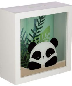 tirelire panda boite face