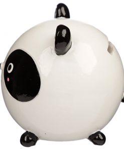 tirelire panda boule côté