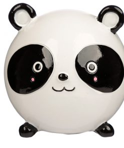 tirelire panda boule face