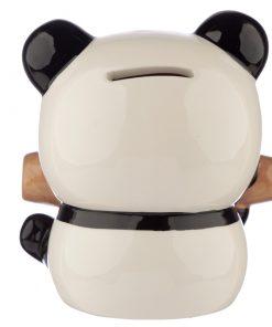 tirelire panda bambou arrière
