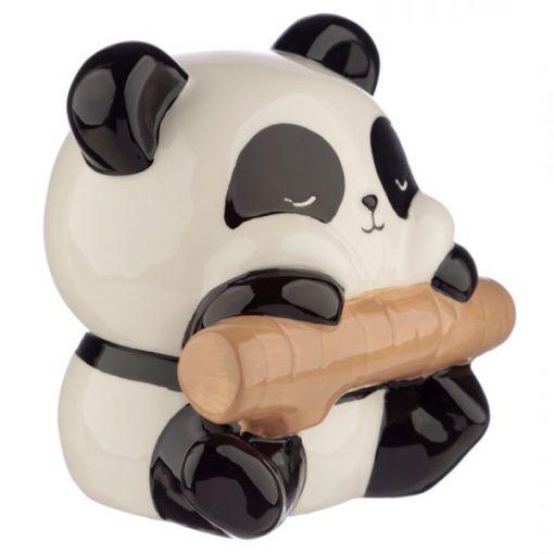 tirelire panda bambou face